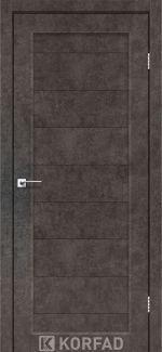Межкомнатные двери Porto PR-05 Корфад лофт бетон глухое
