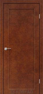 Двери Porto PR-05 сталь кортен глухое
