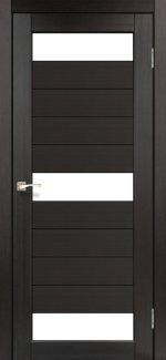 Двери Корфад Porto PR-14 венге стекло Сатин