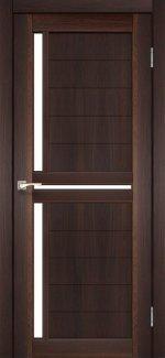 Двери Scalea SC-04 орех стекло Сатин