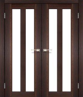Двери Torino TR-05 Корфад Орех со стеклом