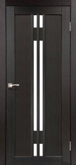 Двери Корфад Valentino VL-05 венге стекло Сатин