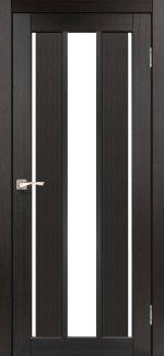 Двери Корфад Venecia Deluxe VND-04 венге стекло Сатин