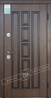 Входные двери Двери Украины Квадро Белорусский Стандарт