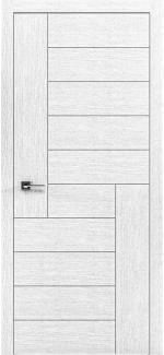 Межкомнатные двери Двери Liberta Domino-3 Родос белый дуб глухое
