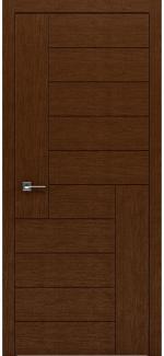 Межкомнатные двери Двери Liberta Domino-3 Родос орех глухое