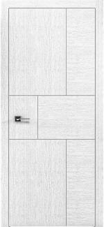 Межкомнатные двери Двери Liberta Domino-4 Родос белый дуб глухое