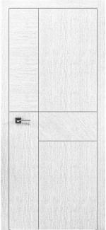 Межкомнатные двери Двери Liberta Domino-5 Родос белый дуб глухое