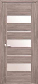 Двери Лилу сандал стекло Сатин