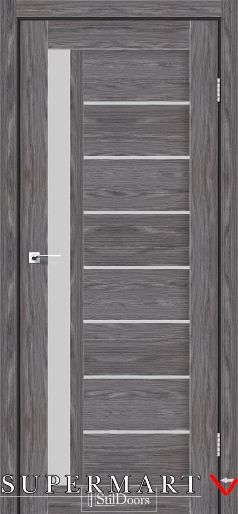 Межкомнатные двери Двери London StilDoors дрим вуд стекло сатин