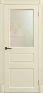 Межкомнатные двери Двери Лондон ПО Amore Classic Омега слоновая кость со стеклом