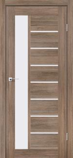 Межкомнатные двери Двері Lorenza Леадор сіре дерево скло Сатін