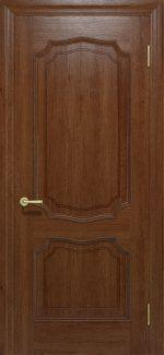 Межкомнатные двери Двері Луідор Статус Дорс темний горіх глухе