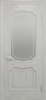 Межкомнатные двери Двері Луідор Статус Дорс білі зі склом