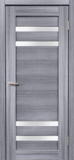 Двери Дера Мастер 636 сандал серый со стеклом