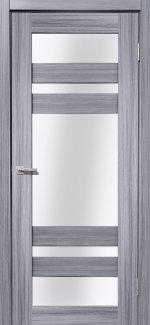 Межкомнатные двери Мастер 639 Дера сандал серый со стеклом