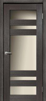 Межкомнатные двери Мастер 639 Дера венге со стеклом