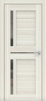 Межкомнатные двери Мастер 688 Дера сандал беленый со стеклом