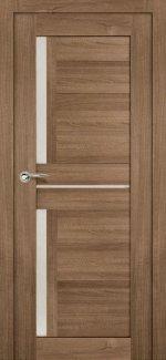 Межкомнатные двери Двери Мастер 688 Дера шимо темный со стеклом
