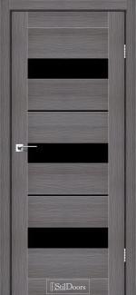 Межкомнатные двери Двери Mexico StilDoors дрим вуд стекло черное
