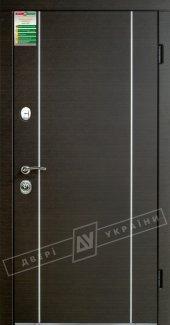 Входные двери Милан Интер Украины  12 мм(полотно),16 мм(наличники)