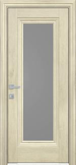 Межкомнатные двери Милла Новый Стиль орех гималайский стекло графит