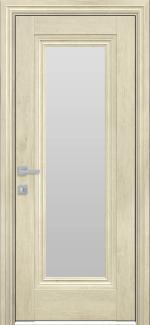 Межкомнатные двери Милла Новый Стиль орех гималайский стекло Сатин