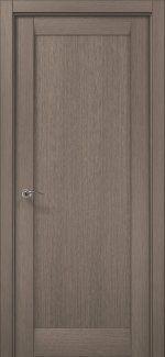 Межкомнатные двери ML-00Fc Папа Карло серый дуб глухое