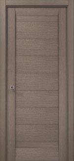 Межкомнатные двери ML-04c Папа Карло серый дуб глухое