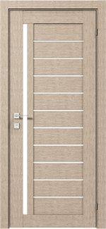 Межкомнатные двери Modern Bianca Родос крем полустекло