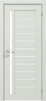 Межкомнатные двери Modern Bianca Родос сосна крем полустекло