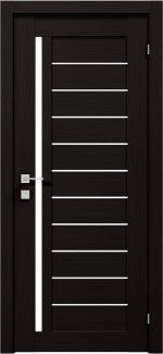 Межкомнатные двери Modern Bianca Родос венге шоколадный полустекло
