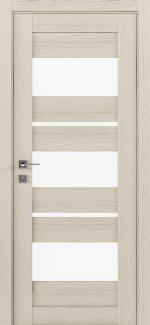 Межкомнатные двери Modern Polo Родос каштан беж со стеклом