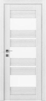 Межкомнатные двери Modern Polo Родос каштан белый со стеклом