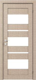 Межкомнатные двери Двері Modern Polo Родос крем зі склом