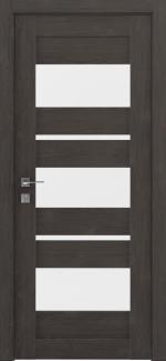 Межкомнатные двери Modern Polo Родос сосна браш браун со стеклом