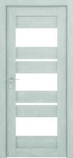 Межкомнатные двери Modern Polo Родос сосна браш минт со стеклом