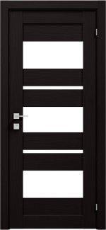 Межкомнатные двери Modern Polo Родос венге шоколадный со стеклом