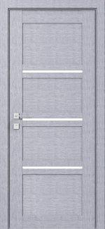 Межкомнатные двери Modern Quadro Родос дуб сонома полустекло