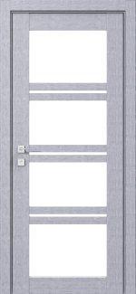Межкомнатные двери Modern Quadro Родос дуб сонома со стеклом