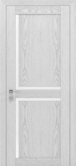 Межкомнатные двери Modern Scandi Родос каштан белый полустекло