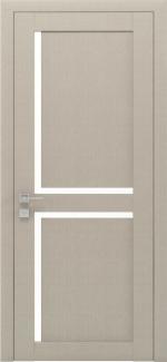 Межкомнатные двери Modern Scandi Родос крем полустекло