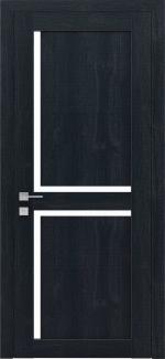 Межкомнатные двери Modern Scandi Родос сосна браш кобальт полустекло