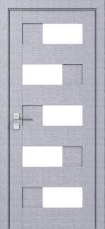 Межкомнатные двери Modern Verona Родос дуб сонома полустекло