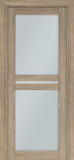 Двери Терминус Модель 104 NanoFLEX мускат со стеклом