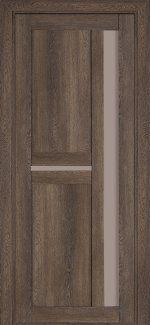 Двери Терминус Модель 106 NanoFLEX фундук со стеклом