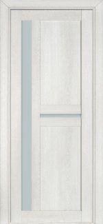 Межкомнатные двери Двері Модель 106 NanoFLEX Термінус пломбір зі склом