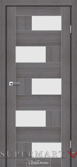 Межкомнатные двери Двери Nepal StilDoors дрим вуд стекло сатин