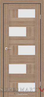 Межкомнатные двери Двери Nepal StilDoors ольха классическая стекло сатин