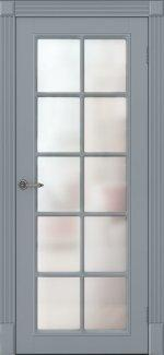 Двери Ницца ПОО Amore Classic серые со стеклом